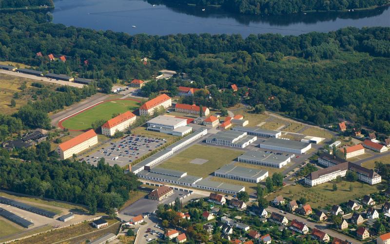 Luftbildaufnahme der Hochschule