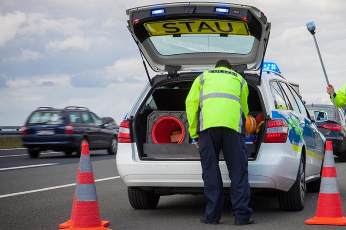 Verkehrspolizei | POLIZEI Brandenburg Karriere